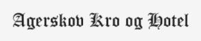 Agerskov kro